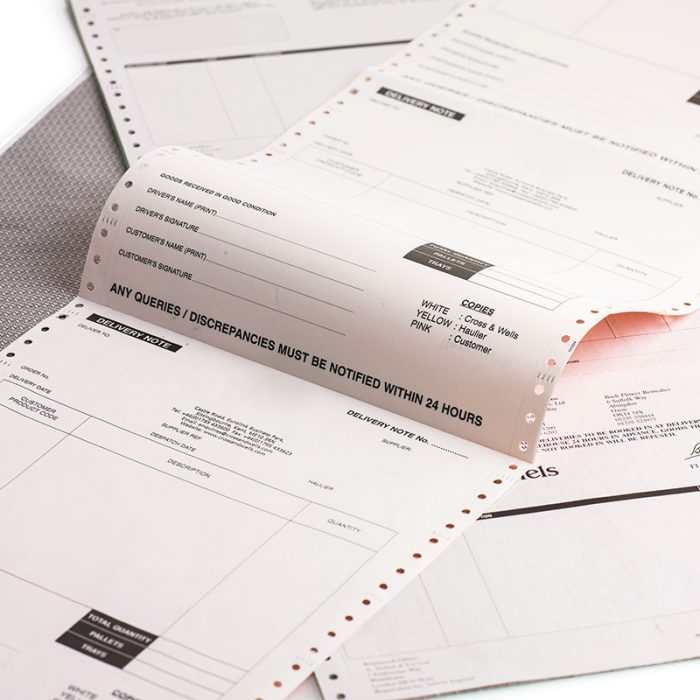 Invoice Printing Northern Ireland, UK and Ireland