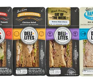 Custom packaging for sandwiches