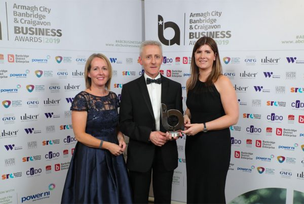 Armagh City, Banbridge and craigavon business awards winners 2019
